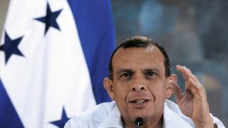 El presidente hondureño, Porfirio Lobo.