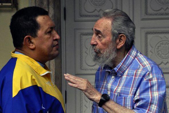 """Castro y Chávez """"expresaron su convicción de que las..."""