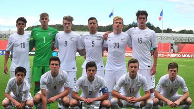 Nueva Zelanda consiguió su pase a octavos de final del mundial