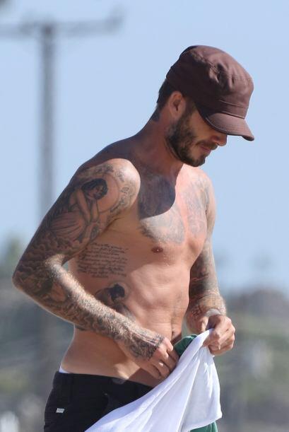 Beckham es considerado como uno de los hombres más sexys de la farándula.
