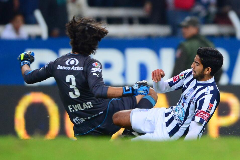 Se acabó el 'Ochoa imbatible' del Lieja, recibió su primer gol  20150214...