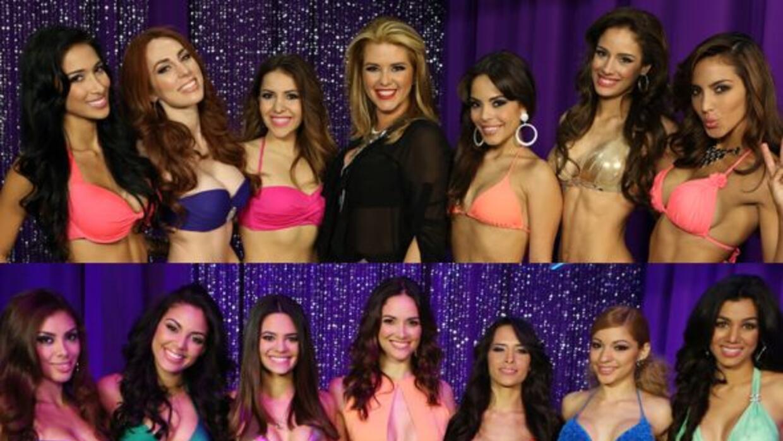 Alicia Machado y Denise Quiñones ya tienen sus bellas.