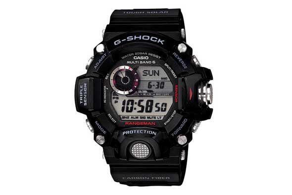 El Casio Rangeman GW9400 está concebido como un auténtico reloj de super...