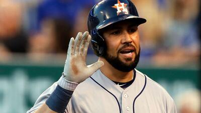 El jugador de los Houston Astros no se olvida de su Puerto Rico.