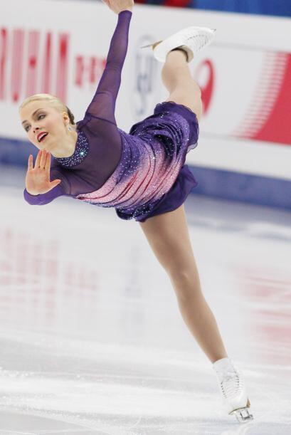 La Hermosa finlandesa Kiira Korpi arrebató suspiros en la pista de hielo...