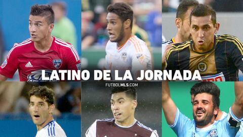 Nominados para el Latino de la Jornada 19