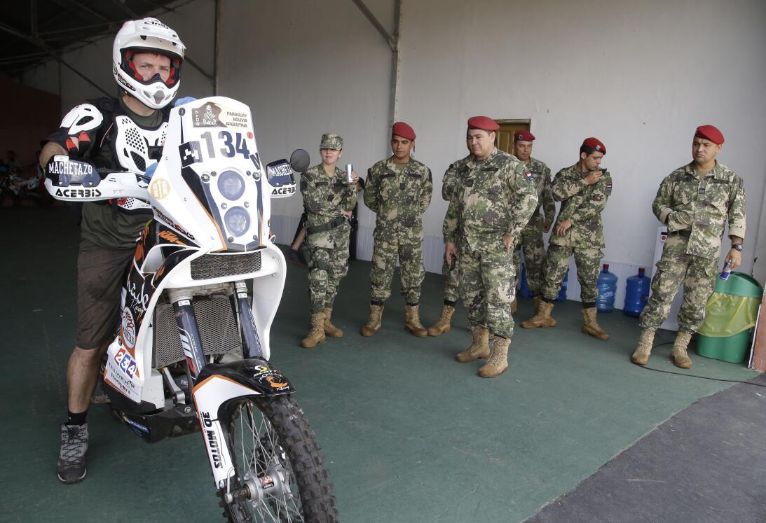 Así fue el comienzo del Rally Dakar en Paraguay AP_16366613853087.jpg