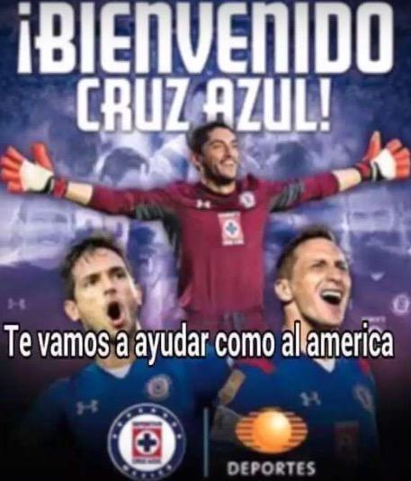 Memes Cruz Azul vs Pumas