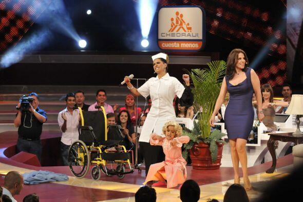 Con Ana Celeste bailó vestida de enfermera y hasta Rebeca Jones se unió...