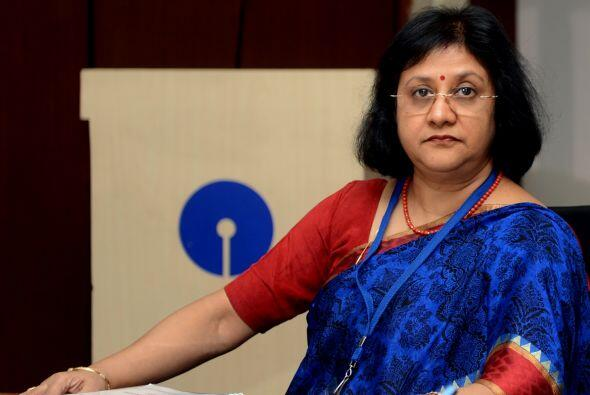 36.ARUNDHATI BHATTACHARYA: Tiene 58 años y es directora de State...