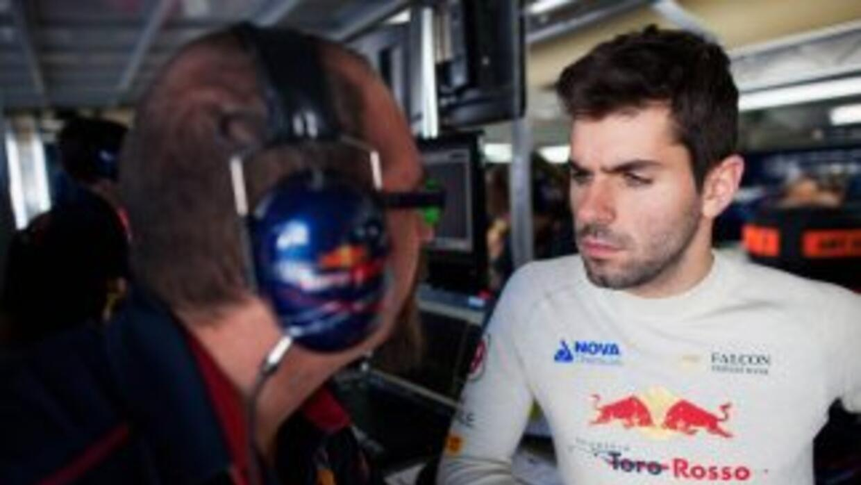 Jaime Alguersuari perteneció al equipo Toro Rosso hasta el inicio de la...
