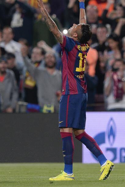 Neymar abrió el marcador luego de una extraordinaria jugada de Iniesta.