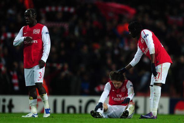 Las esperanzas de los 'Gunners' quedaron fuera y tendrán que replantear...
