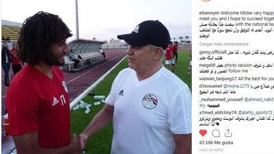 Se acerca el debut: Javier Aguirre ya entrena a Mohamed Salah y a la selección de Egipto