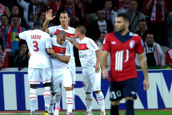 Delantero, Zlatan Ibrahimovic: El sueco ya se hace notar con el PSG y es...