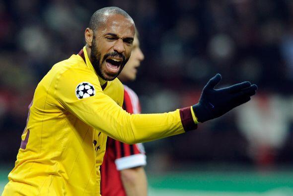 Sin embargo, el coraje del futbolista francés era de lo  poco que se veí...