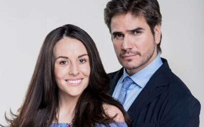 Zuria Vega y Daniel Arenas protagonizan 'Mi marido tiene familia'
