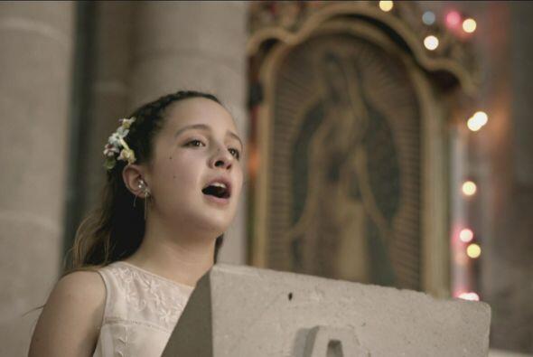 La hija del Menona fue la encargada de hacer los cantos religiosos.