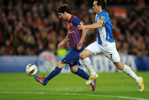 Messi jugó un partido excelente.