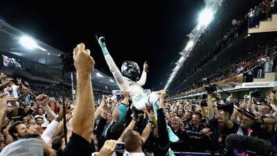 Nico Rosberg, el gran campeón de la Fórmula 1 en 2016