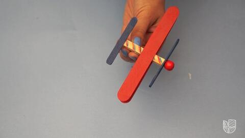 DIY: Preciosos aviones de palitos para hacer con tus nenes