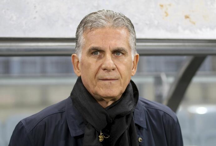 7. Carlos Queiroz (Irán)