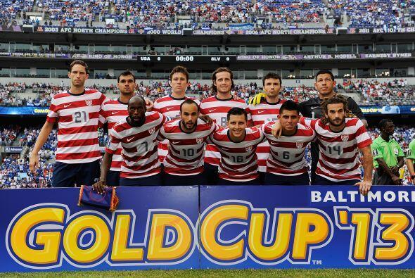Estados Unidos enfrentó a El Salvador en los cuartos de final de la Copa...