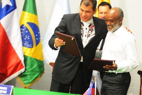 Preval resaltó el Plan de Acción que fue aprobado para este país caribeñ...