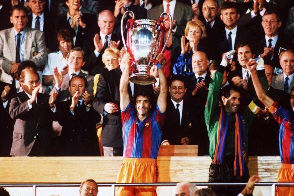 1992 fue la última vez que se jugó este torneo bajo el nombre de Copa de...