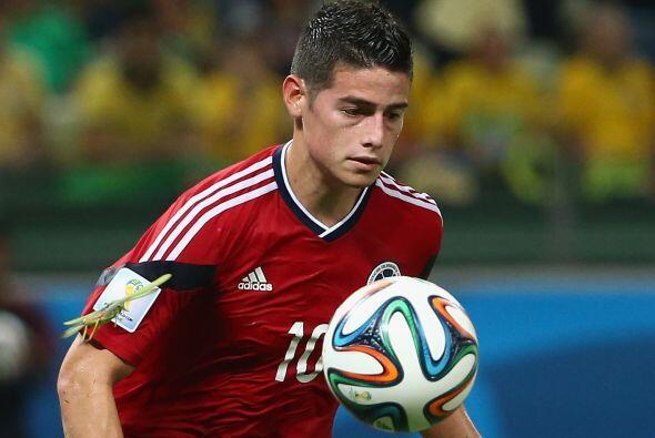 La magia y los goles de James Rodríguez lo pusieron en la orbita de vari...