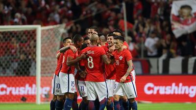 En fotos: Otro rival de México que pierde; Suecia cayó ante Chile