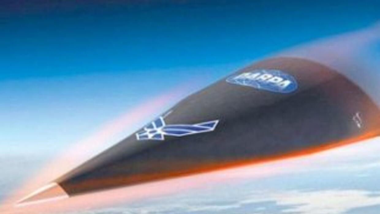 El avión ultra veloz que se perdió en el mar.