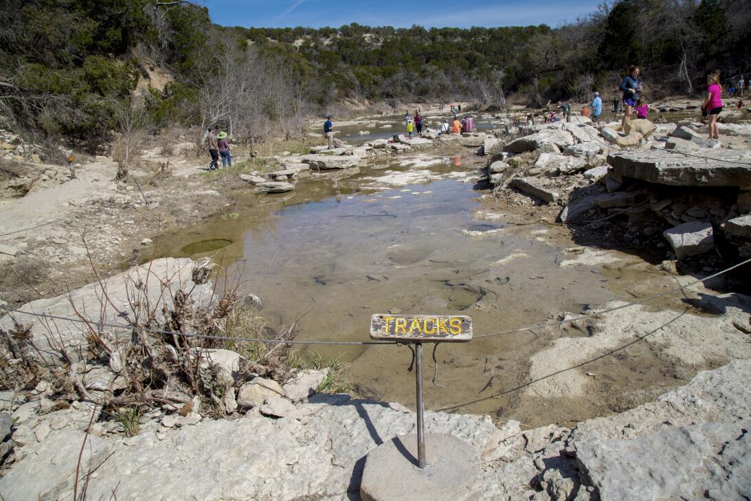 Dinosaur Valley Park y poblados texanos