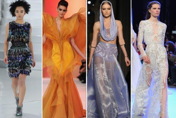Versace, Valentino, Chanel, Christian Dior, entre otros, fueron diseñado...