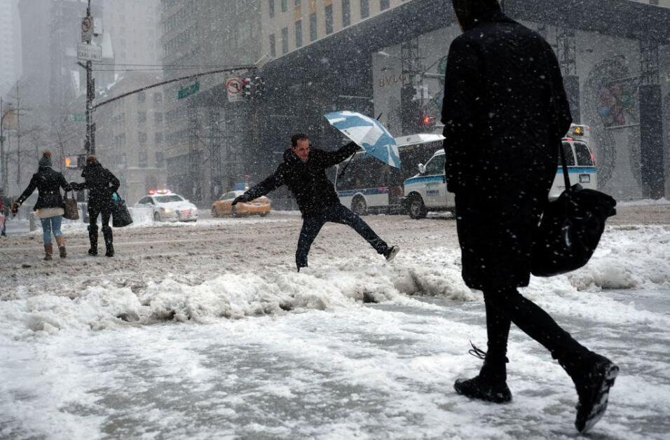El pronóstico más reciente del Servicio Nacional de Meteorología alerta...