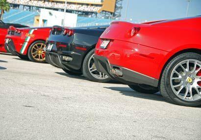 Para los aficionados de la Ferrari, esta fiesta del 'Cavalino Rampante'...