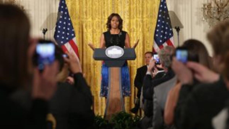 Michelle Obama, primera dama de Estados Unidos.