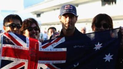 Marck Webber saldrá primero en Japón.