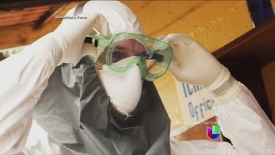Estadounidense con ébola muestra señales de mejoría