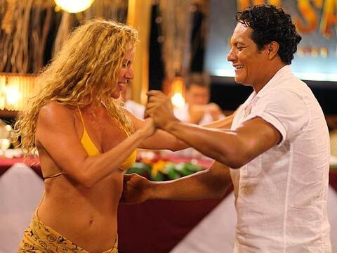 Y antes de dirigirse a la Gran Final, Oscar se echó un buen baile...