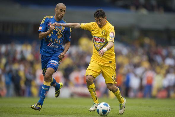 Por los Tigres Guido Pizarro sobresale de sus compañeros en duelos ante...