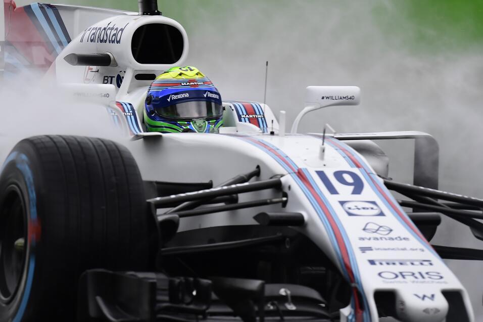 9. Felipe Massa (Williams) - Mejor tiempo: 1:37.456 / 27 vueltas