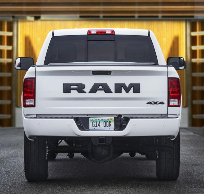 Ram 3500 HD Night