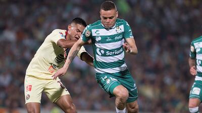 En fotos: Santos y América negocian un justo empate y ahora piensan en la Liguilla