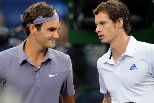 Andy Murray venció a Roger Federer en el Masters de Shanghai.