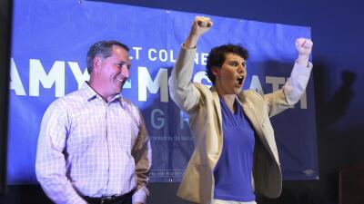 Amy McGrath disputará un puesto en la Cámara de Representantes en noviem...
