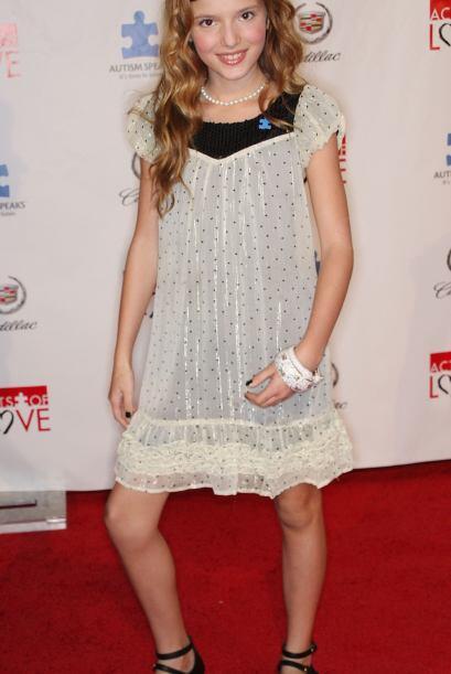"""Annabella Avery Thorne nació el 8 de octubre de 1997 en el """"estado solea..."""