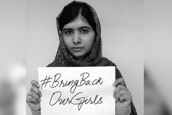 A través de su fundación, Malala pide por la causa de las...
