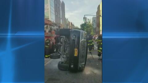 Familia sufre accidente en Brooklyn cuando el vehículo en el que viajaba...
