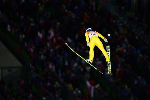 El noruego Anders Bardal logró la medalla de bronce.